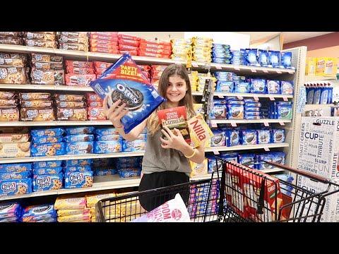 Америка Последний день перед школой Покупаю перекусы, канцелярию
