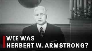 Wie was Herbert W. Armstrong?