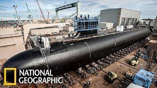 Суперсооружения: Подводная лодка ВМС США Вирджиния