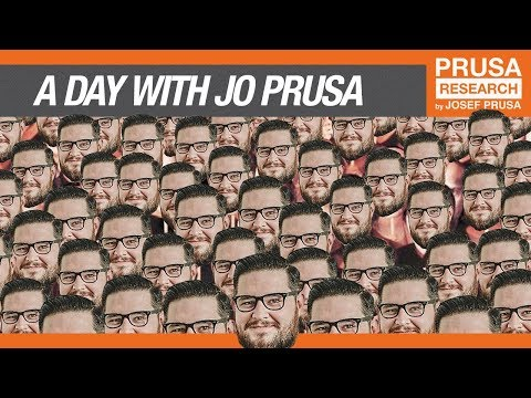 A DAY WITH JOSEF PRUSA