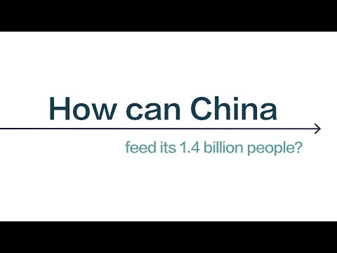 How can China feed its 1.4 billion people?