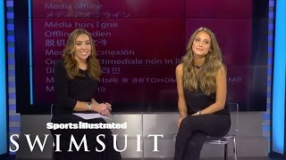Hannah Davis Surprised With Reveal Of Issue Cover 2015 | Sports Illustrated Swimsuit