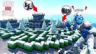 *IMPOSSIBLE* FORTNITE MAZE HIDE AND SEEK MAP!!! (Fortnite Creative)