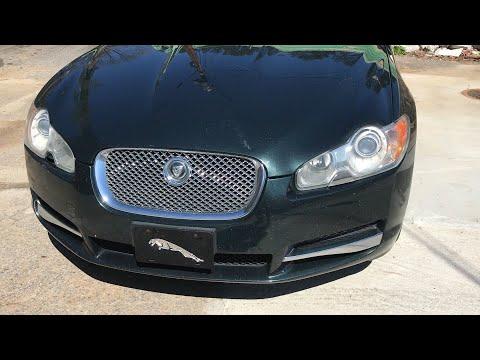 "2010 Jaguar XF sitting on 22""Cavallo-Clv18 Wheels wrapped with 255/30-22 Lexani tires."