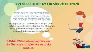 Chanukah 002 - Lighting the Menorah & the Shamash