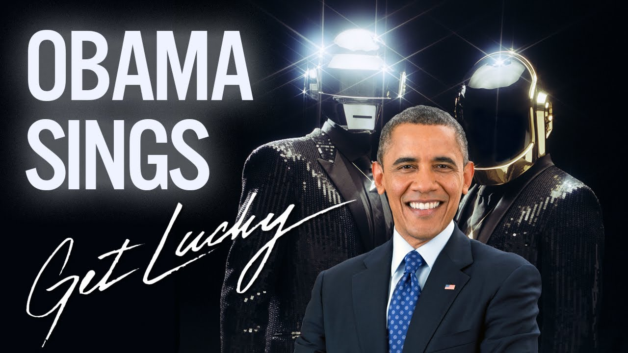 Barack Obama Singing Daft Punk's 'Get Lucky' Will Make You Smile