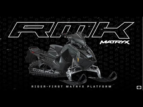 2022 Polaris 850 RMK KHAOS Matryx Slash 163 3 in. SC in Newport, Maine - Video 3