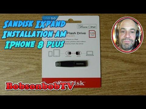 SanDisk IXpand mini für IPhone 8 plus IPad Lightning zu USB Stick BobsonbobTV Review deutsch 4K