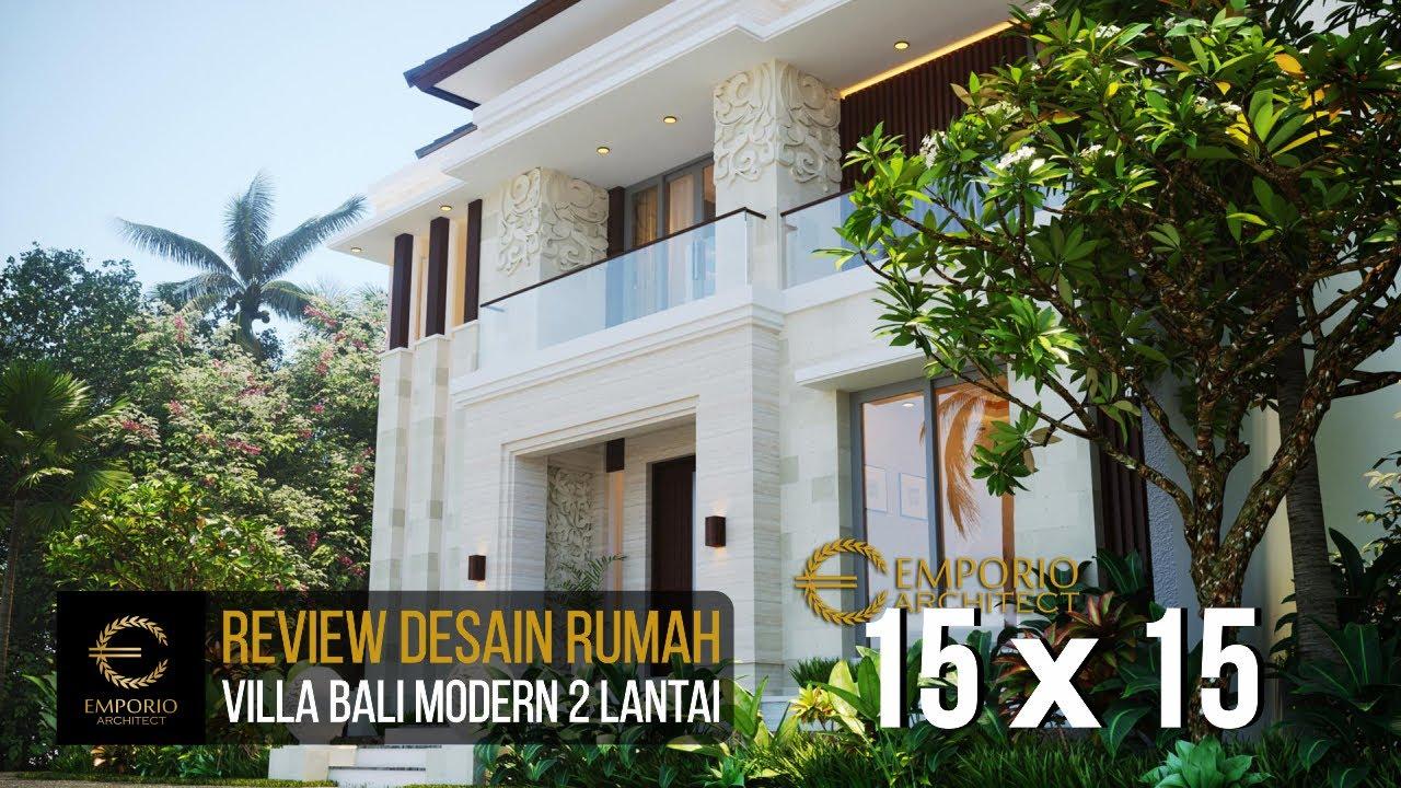 Video 3D Mrs. Emi II Villa Bali Modern House 2 Floors Design - Medan, Sumatera Utara