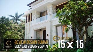 Video Desain Rumah Villa Bali Modern 2 Lantai Ibu Emi II di  Medan, Sumatera Utara