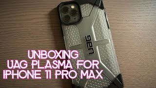 UAG Plasma for iPhone 11 Pro Max Unboxing - Clear