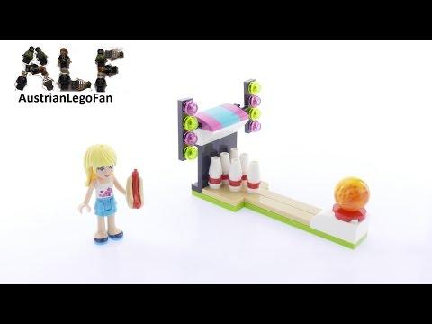 Vidéo LEGO Friends 30399 : Bowling dans le parc d'attractions (Polybag)