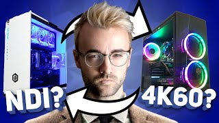 2 PC STREAM MASTERCLASS - Capture Cards, NDI, Aaalllll The Video Things