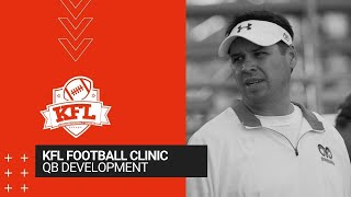KFL Clinic - QB Development