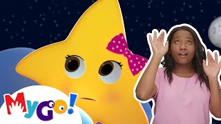 Twinkle Twinkle Little Star | ASL - American Sign Language | Baby Songs | Little Baby Bum