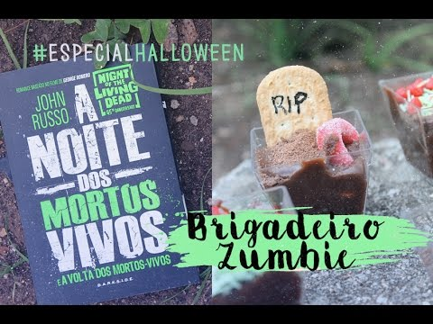 BRIGADEIRO A Noite dos Mortos Vivos #EspecialHalloween | Pausa Para Um Café
