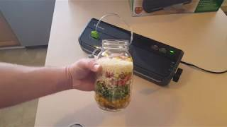 Dehydrated Meal In A Jar - Delicious Chicken Soup From Dried Ingredients