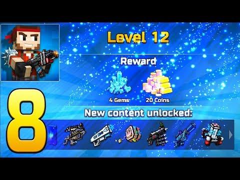 Pixel Gun 3D - Gameplay Walkthrough Part 8 - Level 12
