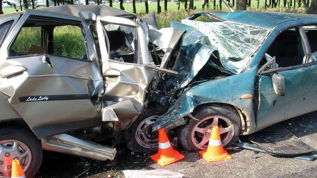 Подборка аварий на высокой скорости