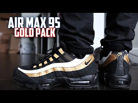 Nike Air Max 95 OG Gold REVIEW and On-Feet | SneakerTalk365