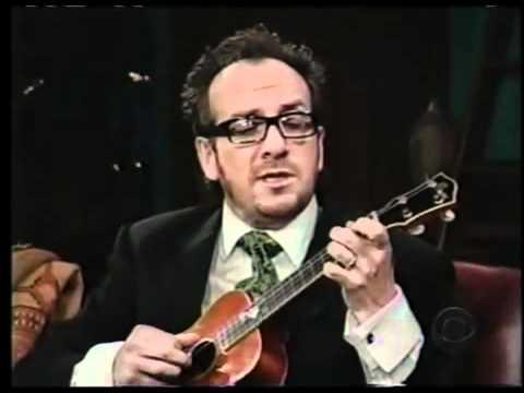 Elvis Costello - The Scarlet Tide on ukulele