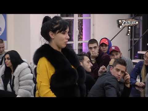 Zadruga 2 - Aleksandra priznala da u vezi sa Davidom vlada strast - 06.12.2018. (видео)