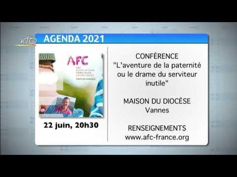 Agenda du 4 juin 2021