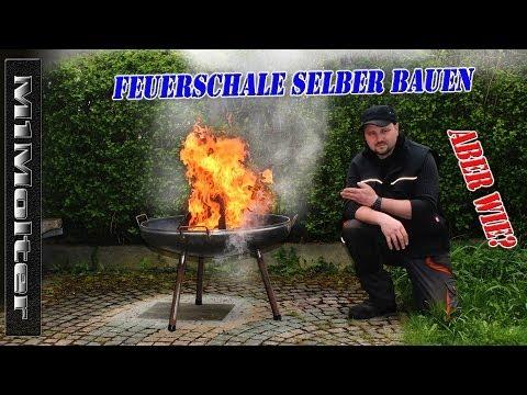Feuerschale selber bauen Anleitung (ausführlich) von M1Molter