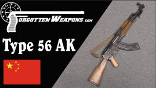 Chinese Type 56 AK-47 (Shooting and History)