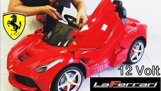 LaFerrari Ferrari Ride On Car RC Remote Control diy Assemble 12 volt By Rastar !!!
