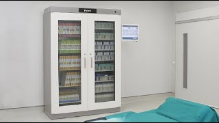 Smart Cabinet RFID - Zehnacker Healthcare launches innovative stock management system for high value
