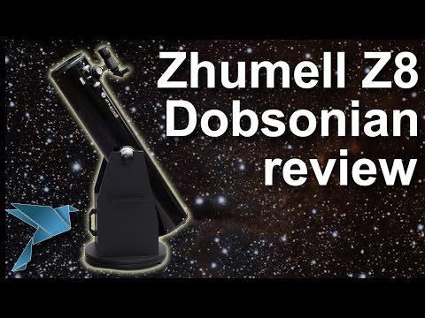 Zhumell Z8 Dobsonian Telescope Review