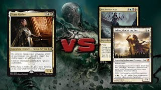 Feather, the Redeemed vs Arixmethes & Prossh - Commander/EDH