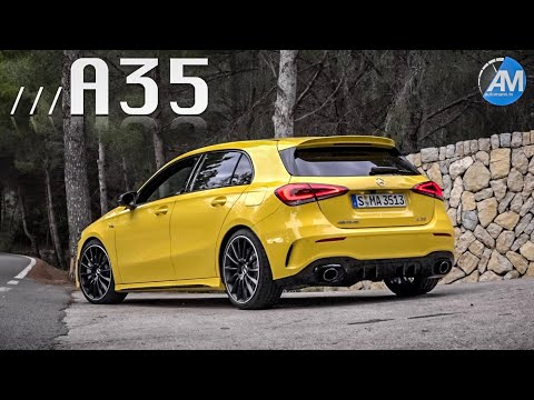 Sample the Mercedes-AMG A35 Acceleration and Exhaust Sound