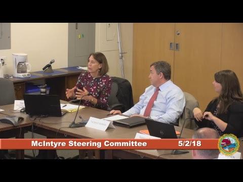 McIntyre Steering Committee 5.2.2018