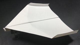 ギネス認定[折り紙origami]世界一飛行時間が長い紙飛行機の折り方Thebestintheworldpaperairplane