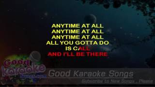 Any Time At All  - The Beatles (Lyrics Karaoke) [ goodkaraokesongs.com ]
