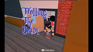 Trolling the Beast!- Roblox Flee The Facility