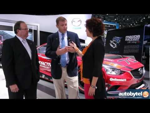 Welcome To Zoom-Zoom Land - Autobytel Chats With Mazda USA At The 2013 Detroit Auto Show