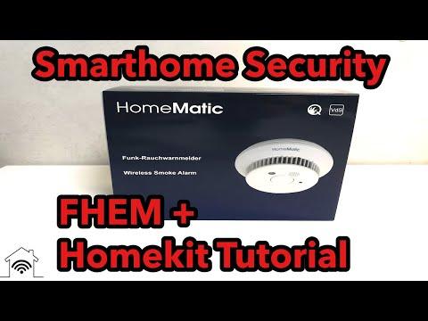 Homematic Funk Rauchmelder HM-SEC-SD2 FHEM und Homekit Integration