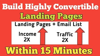 How to Create FREE Landing Pages and Build Unlimited Email List In 2021