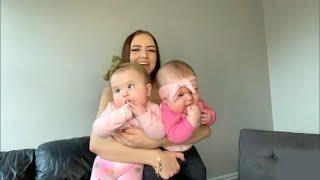 'Chunky Baby' Twins and Mom Do Happy Dance