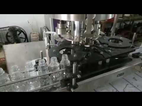 Automatic Four Head Screw Cap Sealing Machine