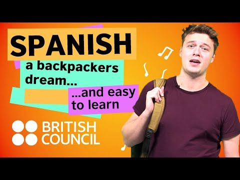 Spanish: a backpacker's dream, and easy to learn
