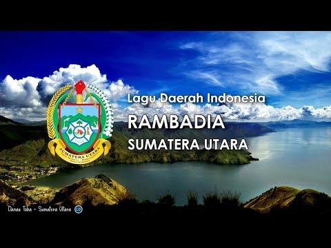 Rambadia   lagu daerah sumatera utara  karaoke dengan lirik