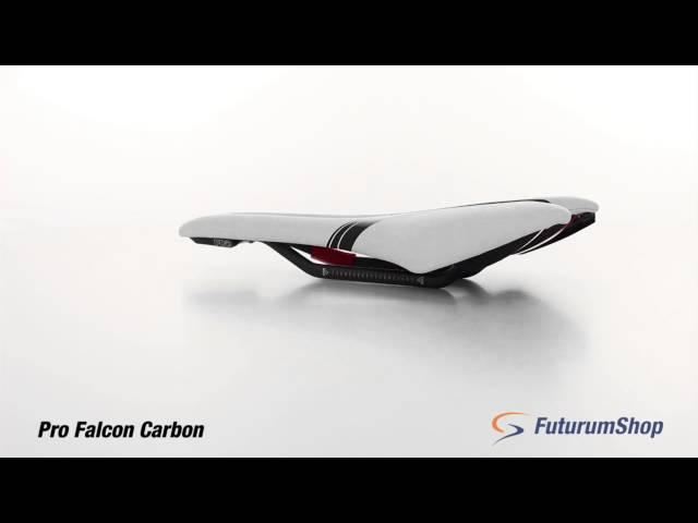 Видео Седло Pro Falcon Anatomic Fit 142mm черное