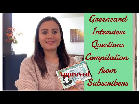 Green Card Interview Questions Compilation 2020 | Marriage Based Green Card Interview