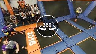 360 Video - Sky Zone Ultimate Dodgeball Championship 2016 Final: Game 5 of 5: DOOM vs. The Shootas