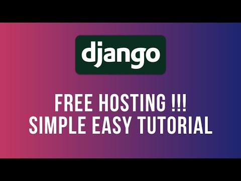 Free 2020 Django Website Hosting in 5 Minutes - Python Anywhere