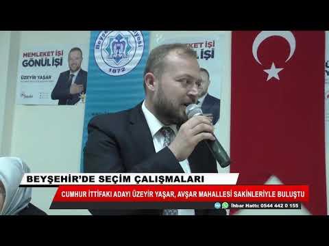 Üzeyir Yaşar: Gençliğimi Beyşehir'e adayacağım